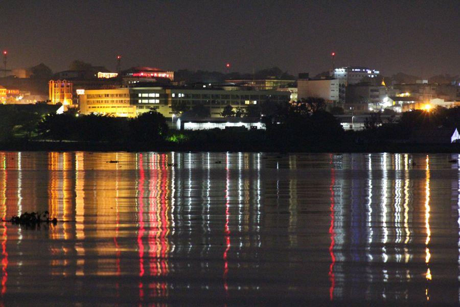 Kisumu lake side City from the festival shore