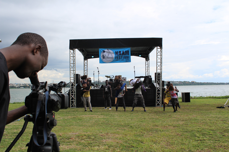 Sarakasi Dancers Sound Check and Behind the Scene Videography